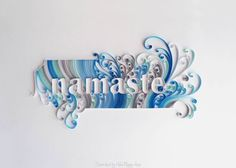 Made by Nacho Esperatti - ABCs quilling (Searched by Châu Khang)