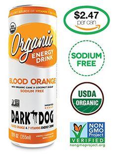 DARK DOG ORGANIC Blood Orange, USDA Organic and NON-GMO Verified Energy Drink Containing 25% of Organic Blood Orange Juice, 12oz (Pack of 12) DARK DOG ORGANIC http://www.amazon.com/dp/B00R6IPQGW/ref=cm_sw_r_pi_dp_S8itvb0NB8B4D