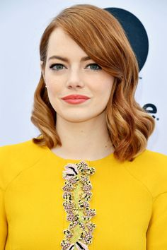 Emma Stone at The Hollywood Reporter's 2016 Women in Entertainment Breakfast.