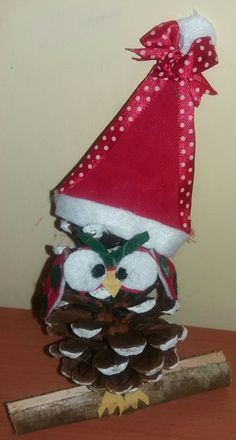 Pigna gufetto natalizia