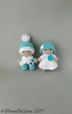 Doll Amigurumi Toy Crochet Doll Big Head Baby Doll by TashaBeSpoke