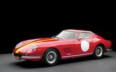 A 1966 Ferrari 275 GTB/C Berlinetta Competizione by Scaglietti