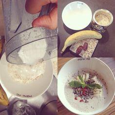 En sağlıklı sabahlar Esteworld'de başlar! :) Kaju sütü, yulaf ezmesi ve hurmayla sağlıklı ve enerji dolu bir kahvaltı hazırladık!   #Esteworld #Kahvaltı #Breakfast