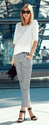 Chessboard pants