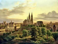 Medieval Town by GDJ
