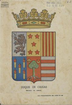 Resultado de imagem para selo do brasão de LUIZ ALVES DE LIMA E SILVA