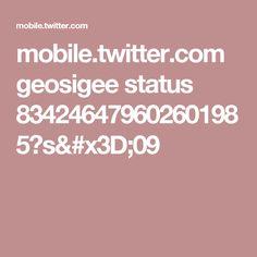 mobile.twitter.com geosigee status 834246479602601985?s=09