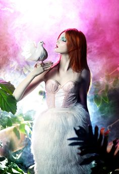 woodland fairy - Jardins de Babylone by Andrey  & Lili , via Behance