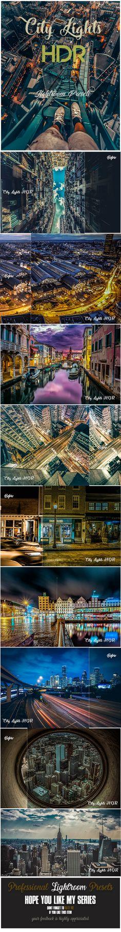 16 City Lights HDR Lightroom Presets