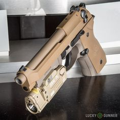 A look at Beretta's new M9A3 pistol.