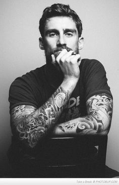 For The Ladies Who Love Tattoos And Beards