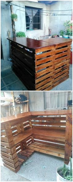 """Explore our web site for additional relevant information on """"bar tables and stools"""". It is actually a superb location to read more. Pallet Furniture Bar Table, Outdoor Furniture Sets, Kitchen Furniture, Pub Table Sets, Bar Tables, Outdoor Patio Bar Sets, Pub Set, Wood Patio, Diy Holz"""