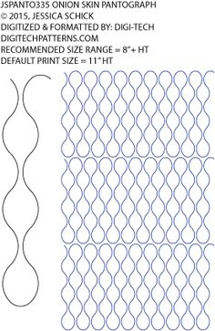Bump & Squeeze Pantograph by Jessica Schick JSPANTO335