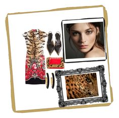 """""""MissBoss"""" by missboss146 ❤ liked on Polyvore featuring Roberto Cavalli, Chico's, Prada and Burberry"""