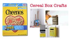 Cereal box crafts to make with your kids