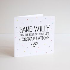 The 64 best greeting cards images on pinterest funny greeting card cheeky humour wedding engagement congratulations m4hsunfo