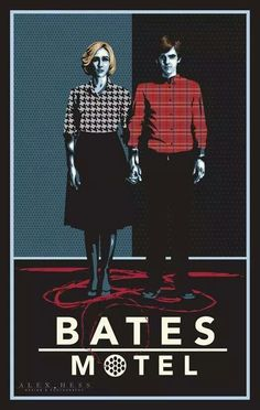 #BatesMotel This is an amazing poster. It just describes part of the show. Love it