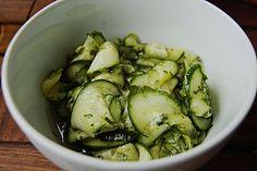 Dänischer Gurkensalat (Rezept mit Bild) von Grömitz1   Chefkoch.de