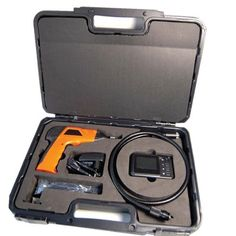 "Wireless Waterproof Snake Plumbing Sewer Inspection Camera with 2.5 TFT-LCD Color removeable LCD Monitor come with Easy Carrying Storage Box "" by Brainydeal. $113.99. This innovative new inspection tool with super-bright LED, the lightweight, handheld design helps you easily find, diagnose, and solve problems quickly. The unique wireless feature allows you to place the camera where you need it and the monitor where you can see it....!!  Usage Samples:  Checkin..."
