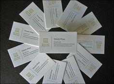 Recover Design Studio Letterpress Cards