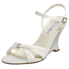 wedges white wedges shoes1 Wedges Wedding Shoes