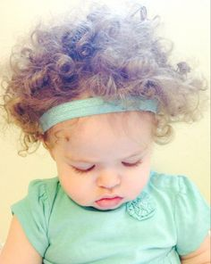 Aqua Stretch Elastic Baby Headband on Etsy, $3.00