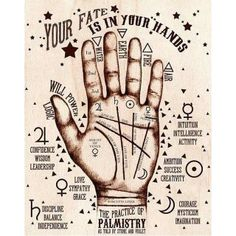 Your Fate is in Your Hands: The Pratice of Palmistry | Stone and Violet