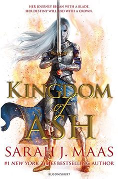 Cover for the last book in the series, Kingdom of Ash aghahh I'm in love!!! Favourite series, so sad it's almost over.