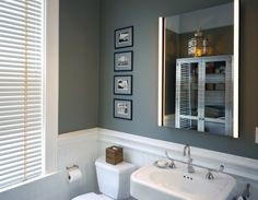 paint color, wainscoting | bath