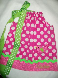 Little Birdie dress by boogerbearpunkinpooh on Etsy, $25.00