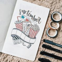 Simple Bullet Journal Ideas to Simplify your Daily Activity Bullet Journal School, Bullet Journal Headers, Bullet Journal Month, Bullet Journal Cover Ideas, Bullet Journal Banner, Bullet Journal Notebook, Bullet Journal Inspiration, Journal Diary, Bullet Journal Films