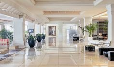 Lobby del hotel #h10andaluciaplaza #andaluciaplaza #h10hotels #h10 #hotel10