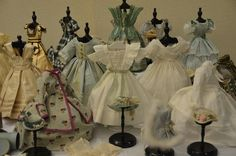 The Enchanting Trousseau of Chiffonnette ~ A Convention 2013 Special Exhibit Published: 01 August 2013 - Written by Maria Greene in section: Convention Sylvia MacNeil's virtuosity as a costume researcher and creator of early French Fashion doll wardrobes made the Chiffonnette special exhibit at the UFDC Convention absolutely breathtaking!