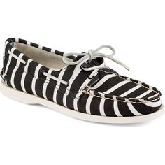Sperry Top-Sider Authentic Original 2-Eye Boat Shoe by Band of... ($125) ❤ liked on Polyvore