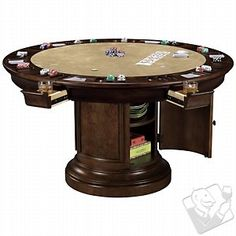 Howard Miller Ithaca Game Table at Wine Enthusiast - $2549.00 - WILL have some day in the near future!