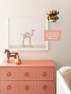 Kids Room Baby Camel Animal Print