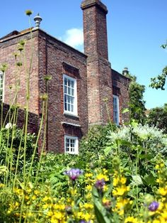 Lamb House in Rye, England. Home of expat American writer Henry James.