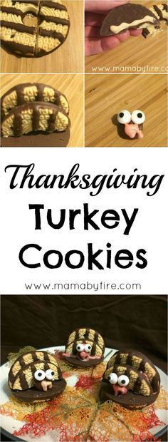 These No Bake Turkey Cookies are so much fun for the kiddos! Perfect as a place holder at the kid table! These No Bake Turkey Cookies are so much fun for the kiddos! Perfect as a place holder at the kid table! Thanksgiving Celebration, Thanksgiving Activities, Thanksgiving Crafts, Thanksgiving Decorations, Autumn Crafts, Holiday Treats, Holiday Recipes, Holiday Foods, Turkey Cookies