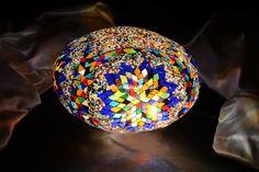 Oval mosaic lamp 30 cm - Mosaic Lamp, Mosaic Turkish Lamps, Moroccon lamp Turkish Lights, Turkish Lamps, Moroccan Lamp, Hotel Decor, Light Table, Pendant Lamp, Glass Art, Mosaic, Candle Holders