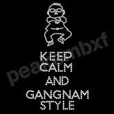 Korean Rhinestone Hotfix Motif Keep Calm and Gangnam Style for Garments http://www.peakembxf.com/products/rhinestone-transfers/dance-rhinestone-transfers/korean-rhinestone-hotfix-motif-keep-calm-and-gangnam-style-for-garments-623.html