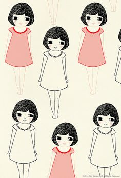 ashley g vintage girls pattern