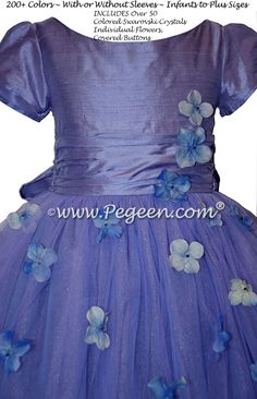 756e86e6f62 Flower Girl Dress from the Fairytale Collection in Periwinkle
