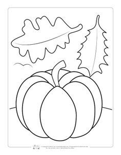Fall Coloring Pages for Kids - Itsy Bitsy Fun Pumpkin Coloring Sheet, Fall Coloring Sheets, Halloween Coloring Sheets, Fall Coloring Pages, Coloring Pages For Kids, Kids Printable Coloring Pages, Fairy Coloring, Free Coloring, Adult Coloring