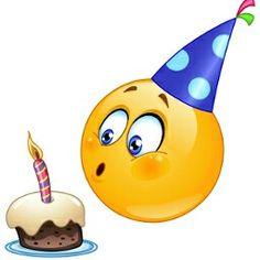 Happy birthday Emoticon