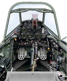 BF109E 4 Cockpit