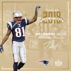 Randy Moss  81 2018 Hall of Fame Boston Sports e70a39a90