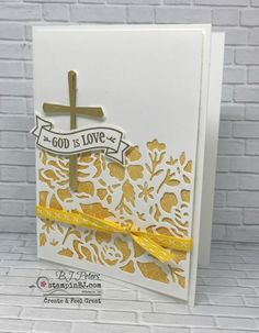 Hold on to Hope, Cross of Hope, Stampin' Up! #stampinBJ.com