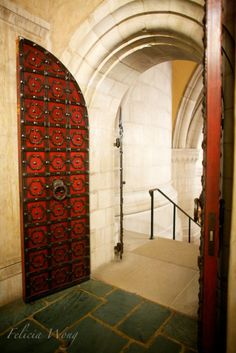 Doors in the Washington National Cathedral, Washington DC.