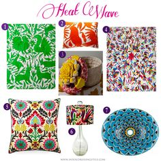 House Dressing Style: Heat Wave: Mexican Inspired Home Decor