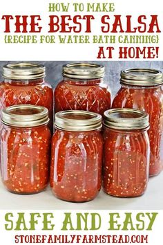 Salsa Canning Recipes, Canning Salsa, Chili Sauce Recipe For Canning, Homemade Salsa Recipes, Canned Hot Sauce Recipe, Easy Canned Salsa Recipe, Cooked Salsa Recipe, Homemade Canned Salsa, Easy Canning